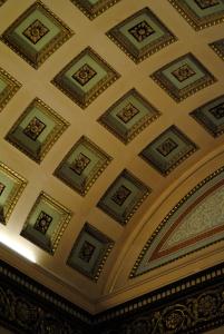 interior of the playfair library, edinburgh