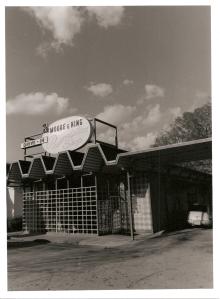 Moore & King Pharmacy, Brainerd Road, Chattanooga. 2010. Silver print.